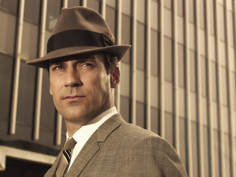 """""""Mad Men,"""" starring Jon Hamm, features numerous ads in its opening credits, and now one of the models in an ad is suing the show."""