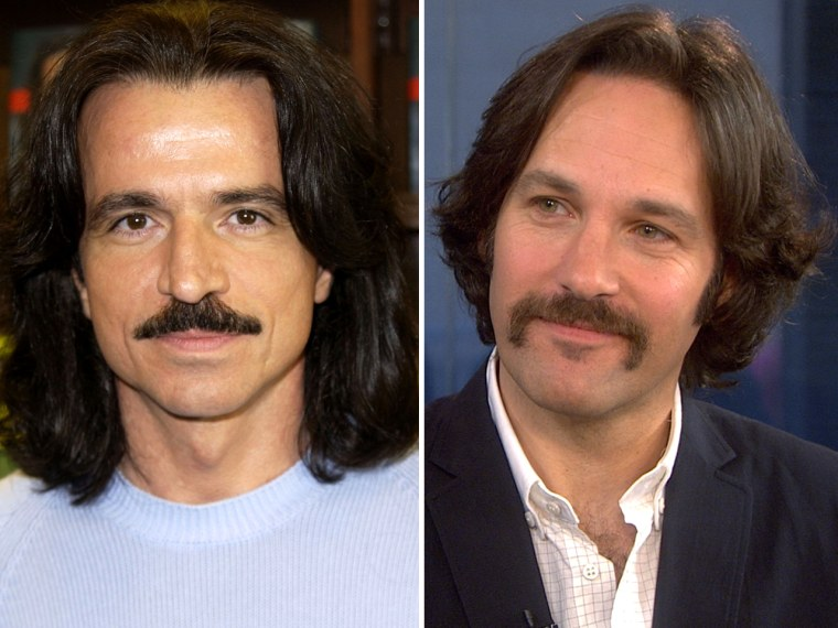 Yes. Yes he does look like Yanni, left.