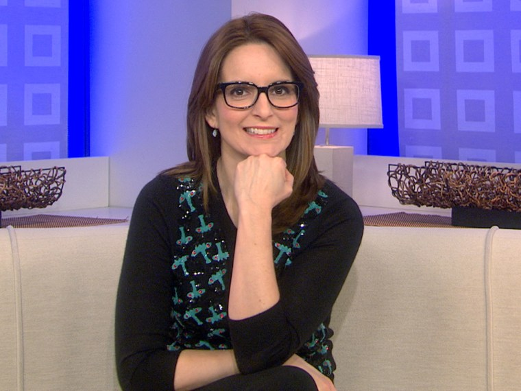 """On TODAY Tuesday, Tina Fey talks about her new film, """"Admission,"""" in which she plays a Princeton University admissions officer."""