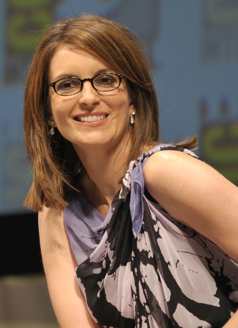 Tina Fey Swaps Out Her Signature Glasses