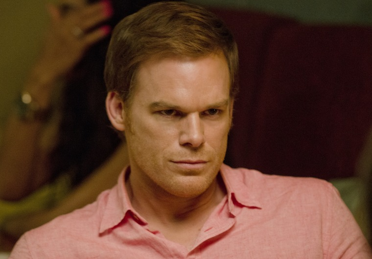 Michael C. Hall as Dexter Morgan.
