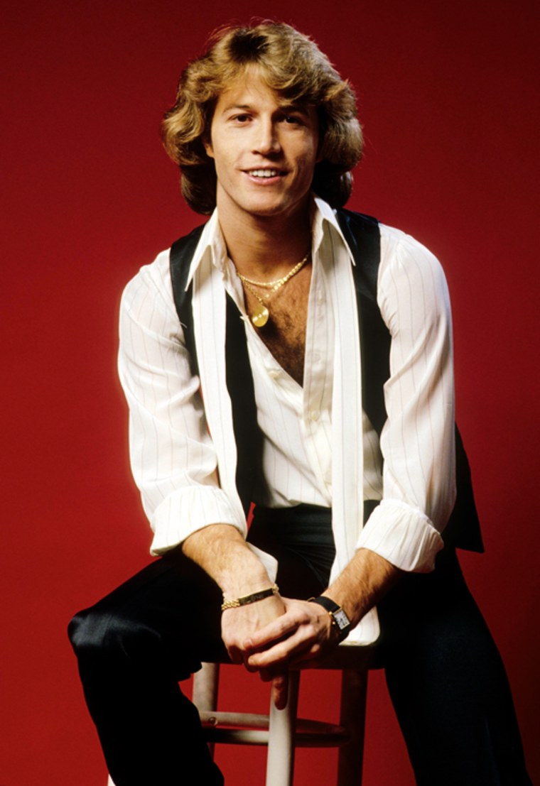 Andy Gibb in 1978, when he was just 20.