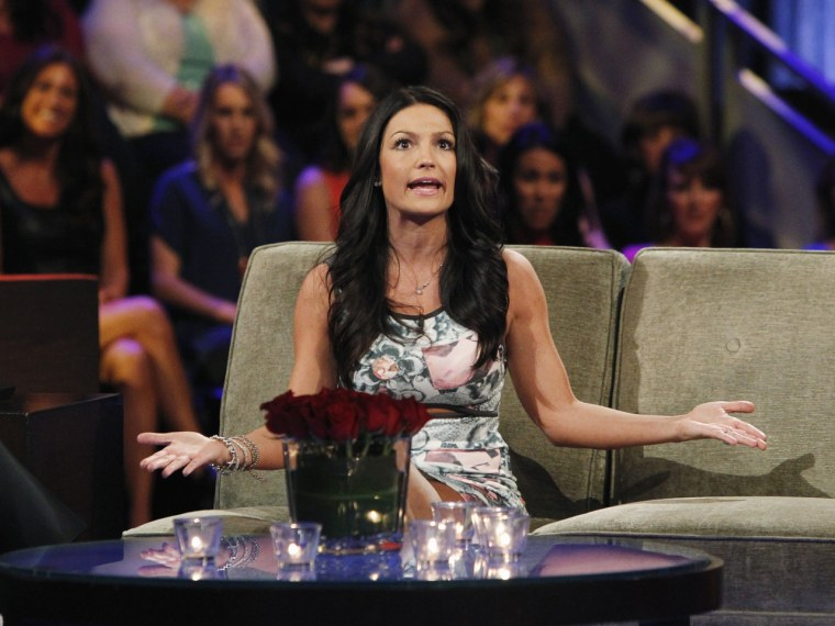 """Tierra just couldn't figure out what the other women were complaining about on """"The Bachelor: The Women Tell All."""""""