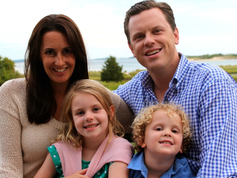 Willie Geist and family