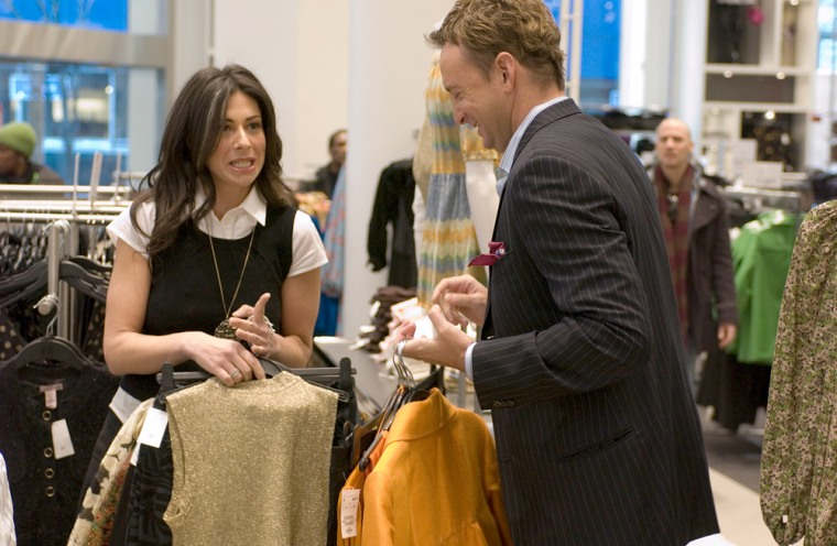 Stacy London and Clinton Kelly.
