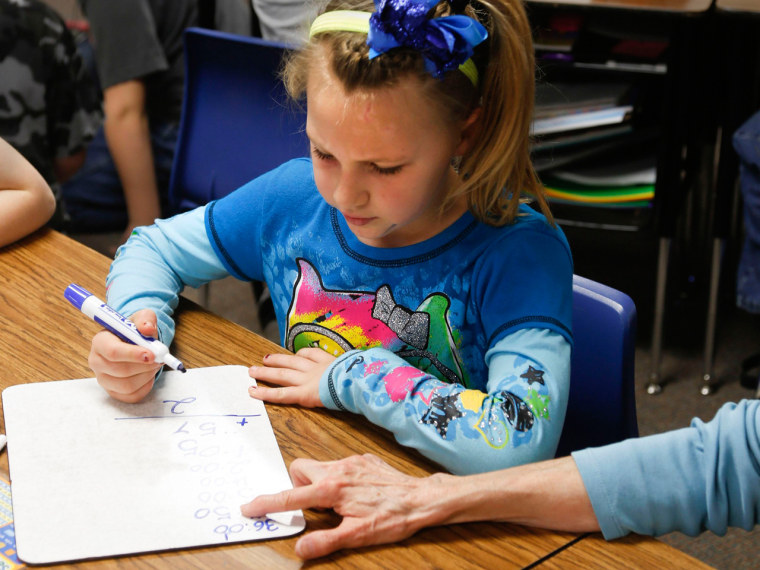 Girls can do as well as boys in math by forsaking speed and focusing on accuracy.