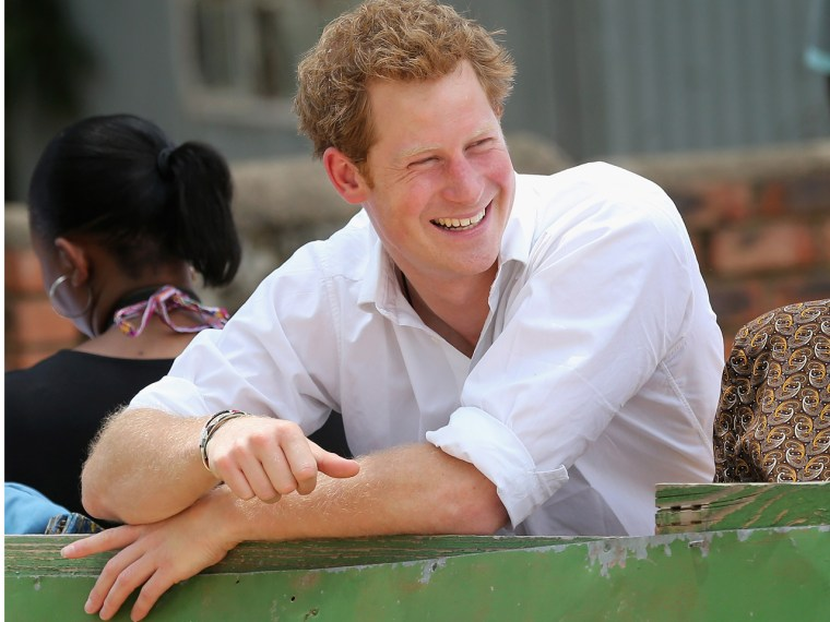 Prince Harry is supporting the landmine clearing charity HALO (Hazardous Areas Life-support Organisation).