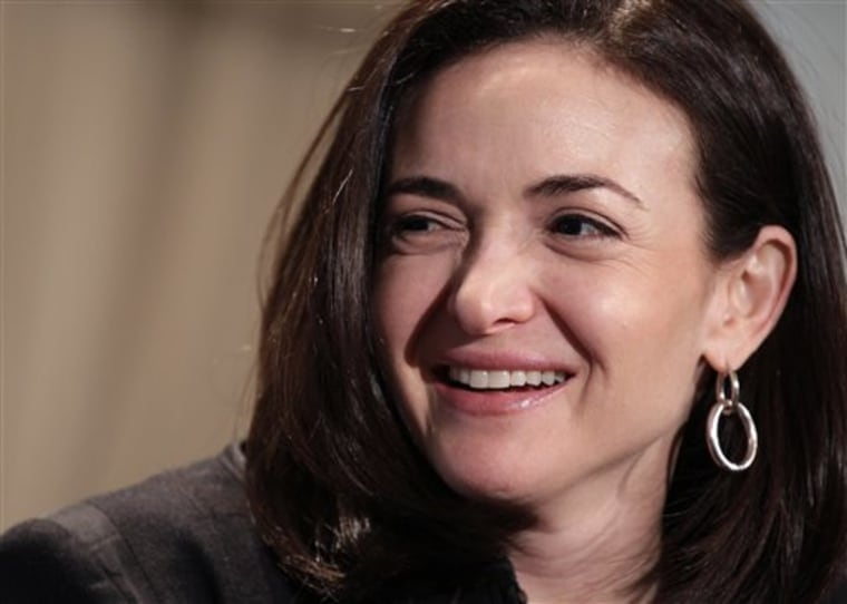 "Facebook COO Sheryl Sandberg's new book, ""Lean In: Women, Work, and the Will to Lead,"" will be released on Monday."