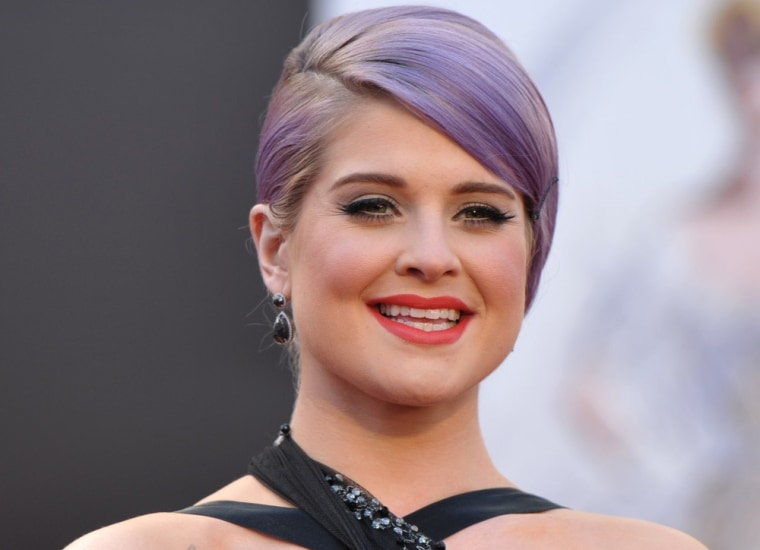 "Kelly Osbourne was hospitalized after fainting on the set of E!'s ""Fashion Police"" Thursday."