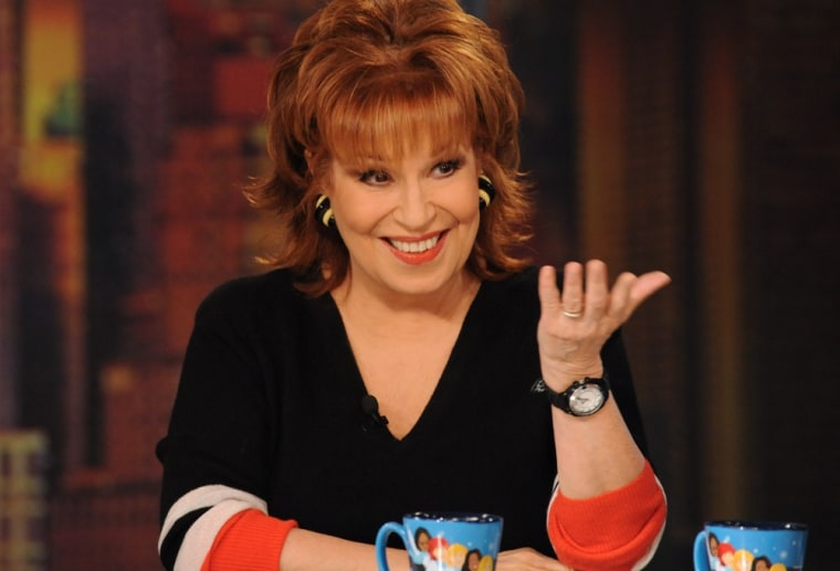 """Joy Behar is moving on from """"The View."""""""