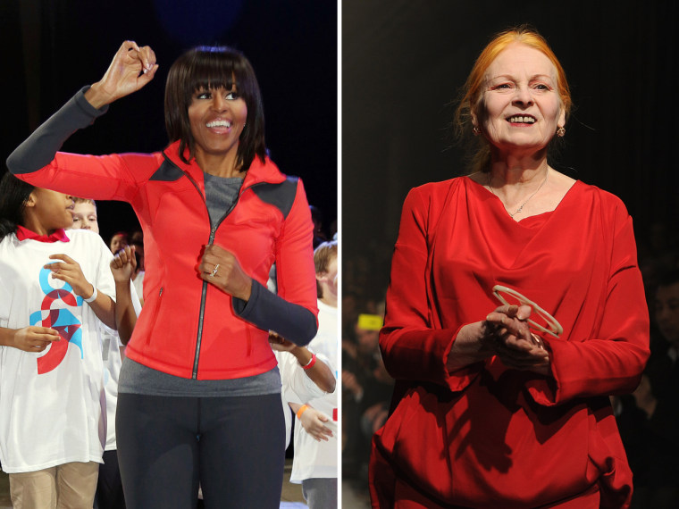 First lady Michelle Obama's wardrobe has been criticized by iconic British designer Vivienne Westwood.