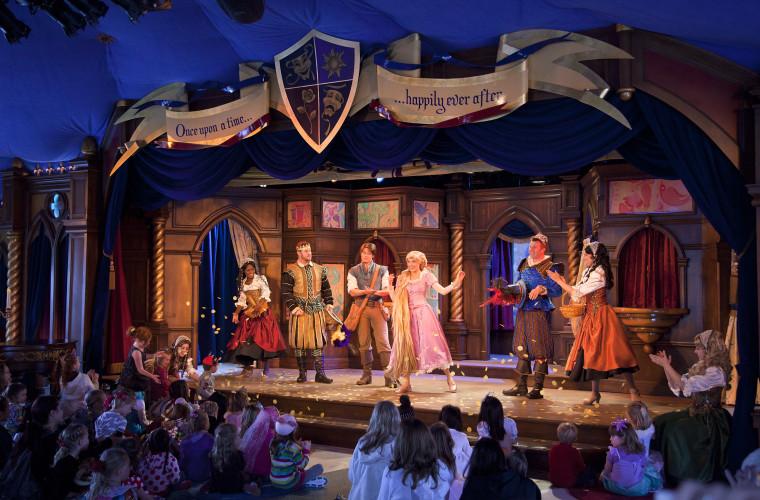 Disneyland Fantasy Faire Royal Theatre Rapunzel