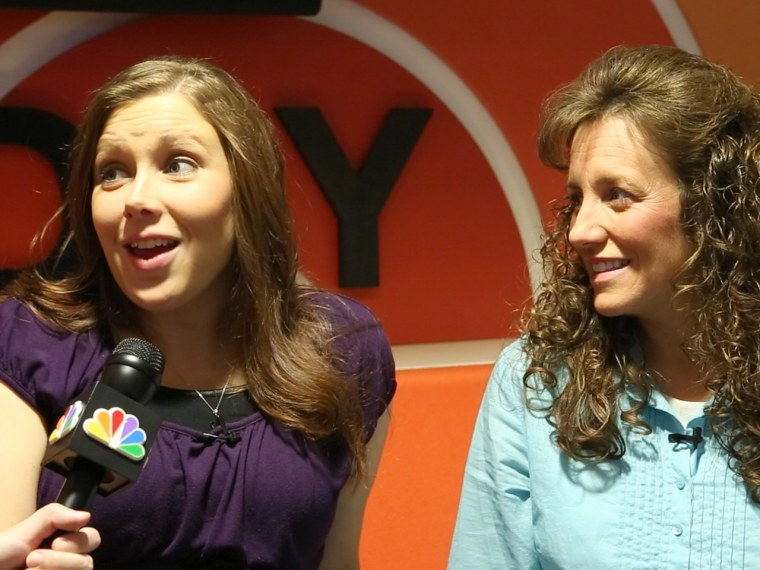 Michelle and Anna Duggar give advice on meaningful sibling relationships.