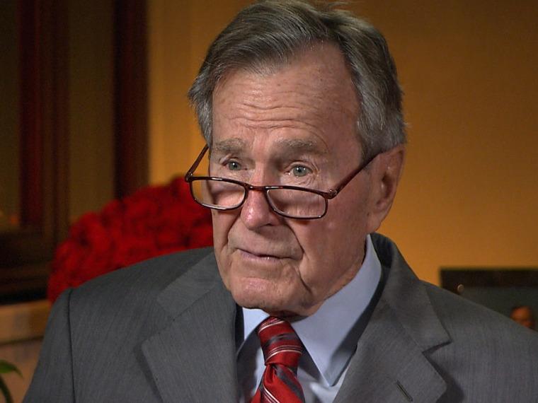 George H.W. Bush is an avid letter-writer.