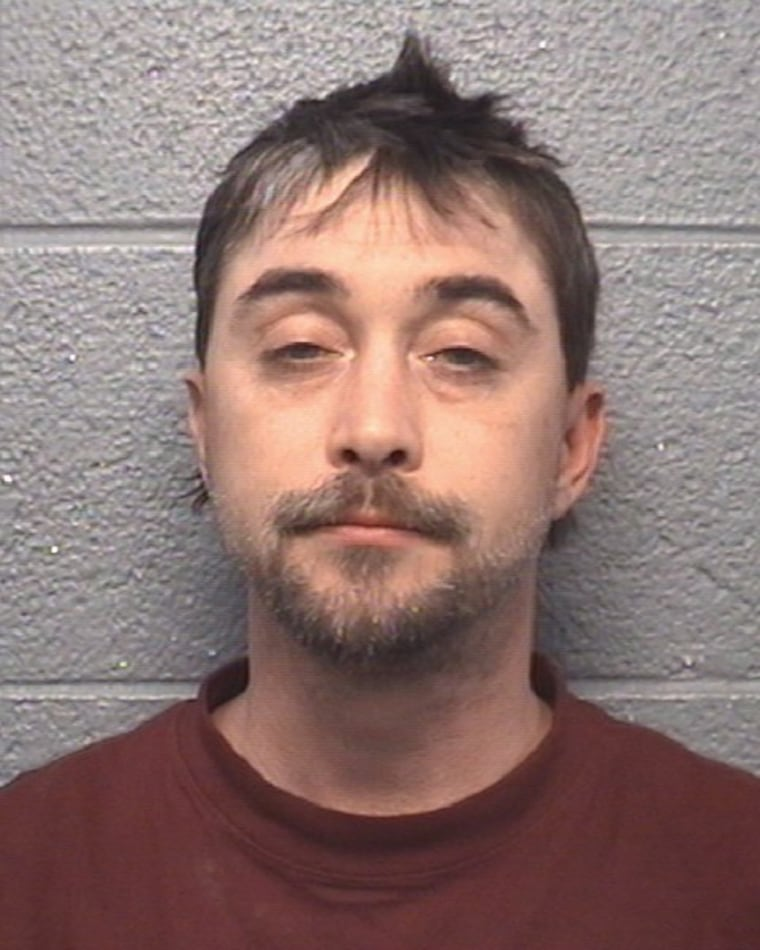 Steven Ray Tickle's booking photo.