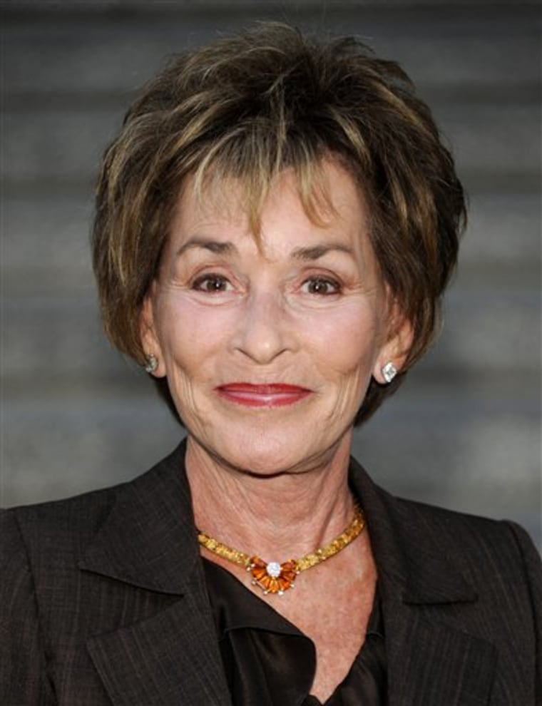 Judge Judy Sheindlin.