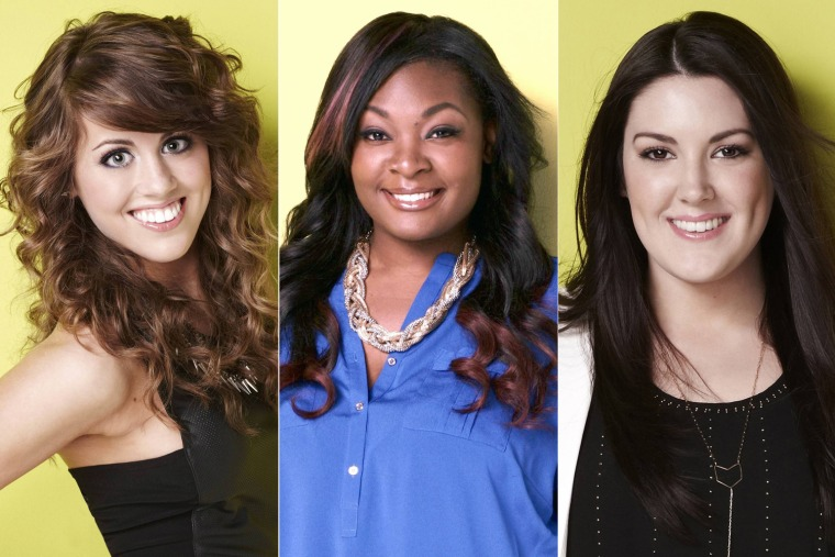 "Angie Miller, Candice Glover and Kree Harrison shone on Wednesday night's ""American Idol"
