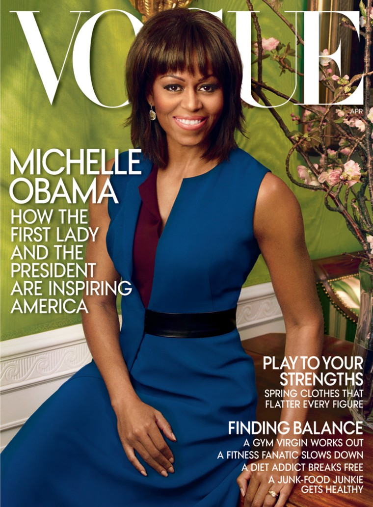 Michelle Obama in Vogue