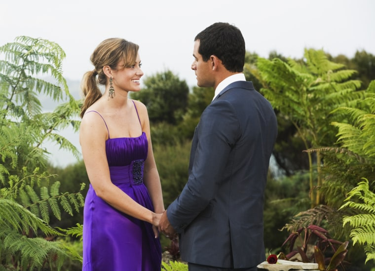 """Jason Mesnick rejected Molly Malaney on """"The Bachelor,"""" but quickly changed his mind. They now have a daughter."""