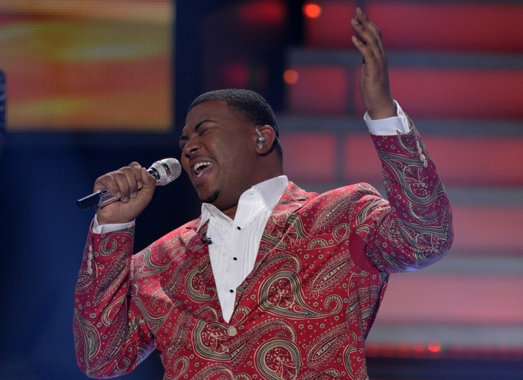 """Curtis Finch, Jr., was eliminated from """"American Idol."""""""