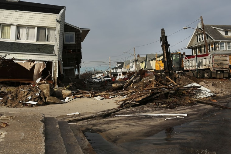 The Rockaways in New York were hard hit by Superstorm Sandy, and many of the homes were destroyed. Residents will be able to deduct what they lost.