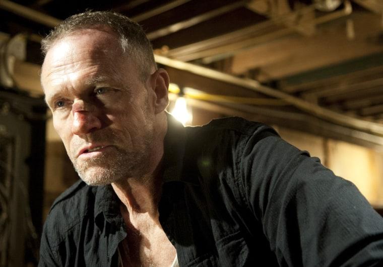 """Merle Dixon (Michael Rooker) on """"The Walking Dead."""""""