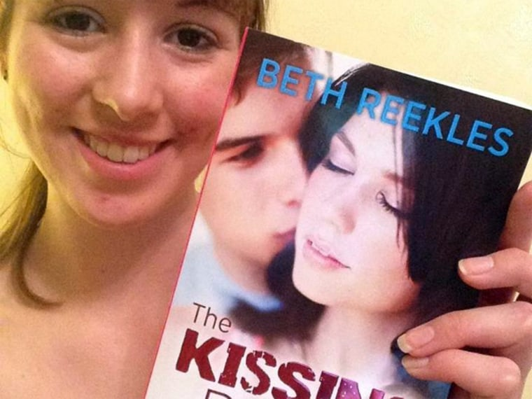 Beth Reeks was shocked to get an email from a publisher after posting her novel online.