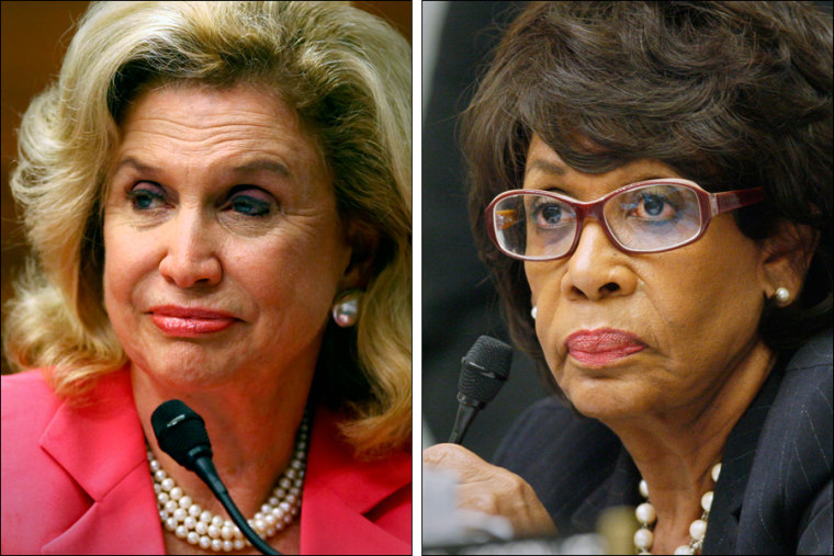 Rep. Carolyn Maloney, D-N.Y. and Rep. Maxine Waters D-Calif., have introduced a bill to limit overdraft fees, which provide banks with billions in revenue every year.