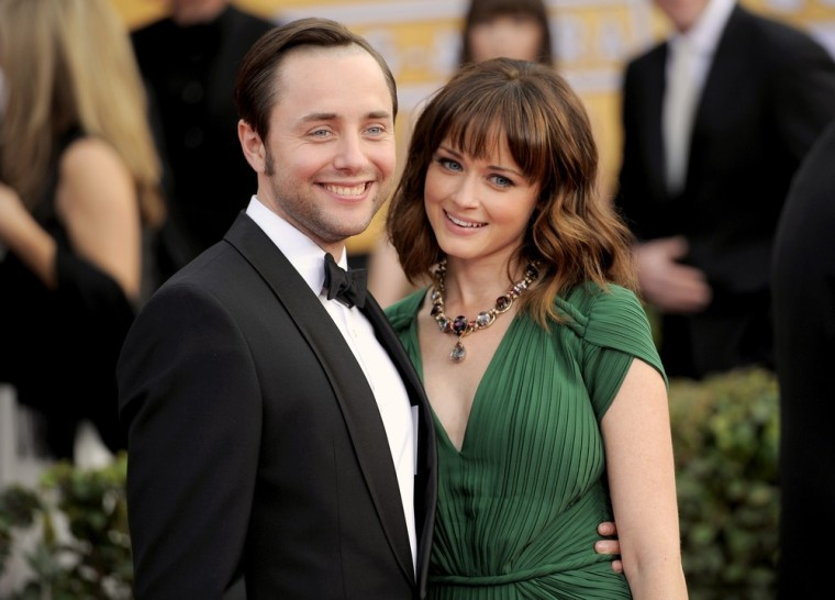 Vincent Kartheiser and Alexis Bledel at the Screen Actors Guild Awards in Los Angeles.