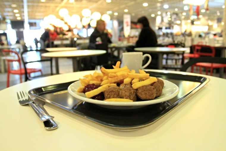 IKEA pulled its famous Swedish meatballs from the menu after Czech authorities discovered they contained horsemeat.