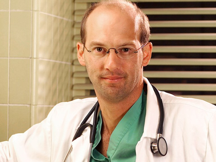 """Dr. Mark Greene got to spend a memorable moment with his beloved daughter before """"E.R."""