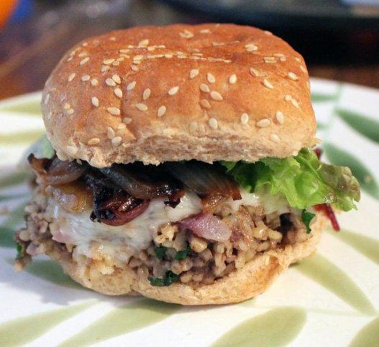 Yum! Try a bulgur burger.