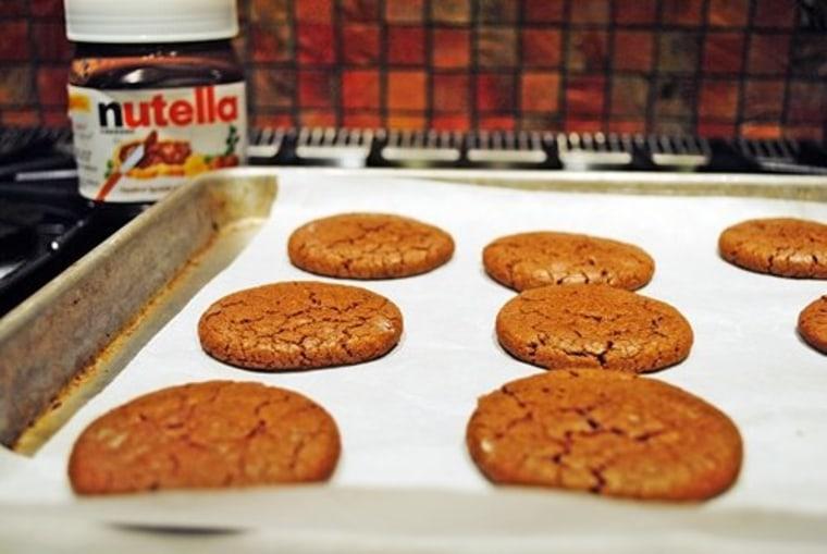 Make Barbara's delicious chocolate Nutella cookies.