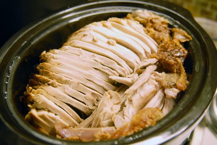 A shot of Bret's turkey.