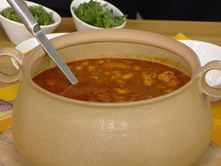 Michael Lomonaco's soup