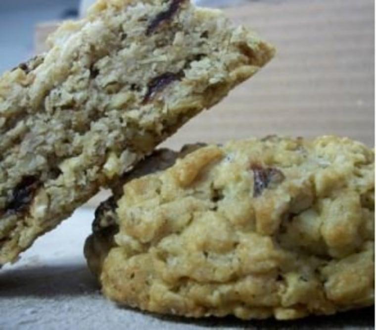 Salty Oats cookies from Kayak Cookies
