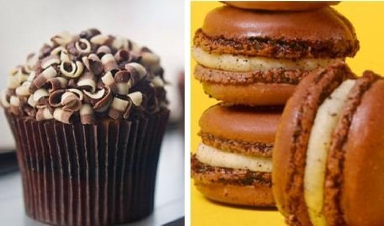 Cupcake vs. macaron? Who's the stronger contender?