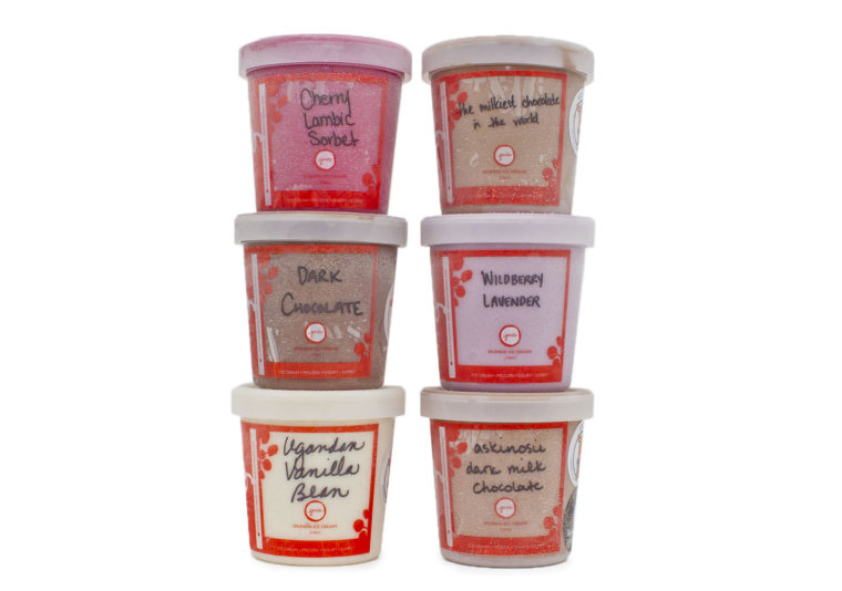 Jeni's Splendid Ice Creams Valentine's Day collection.