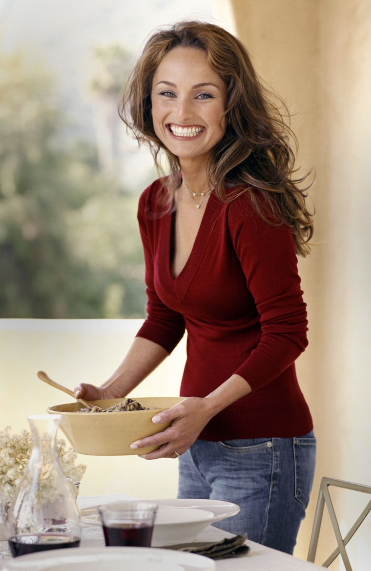 """In a taste test by Consumer Reports, Giada De Laurentiis' pasta sauce was named """"Best Buy"""" among celebrity-branded products."""