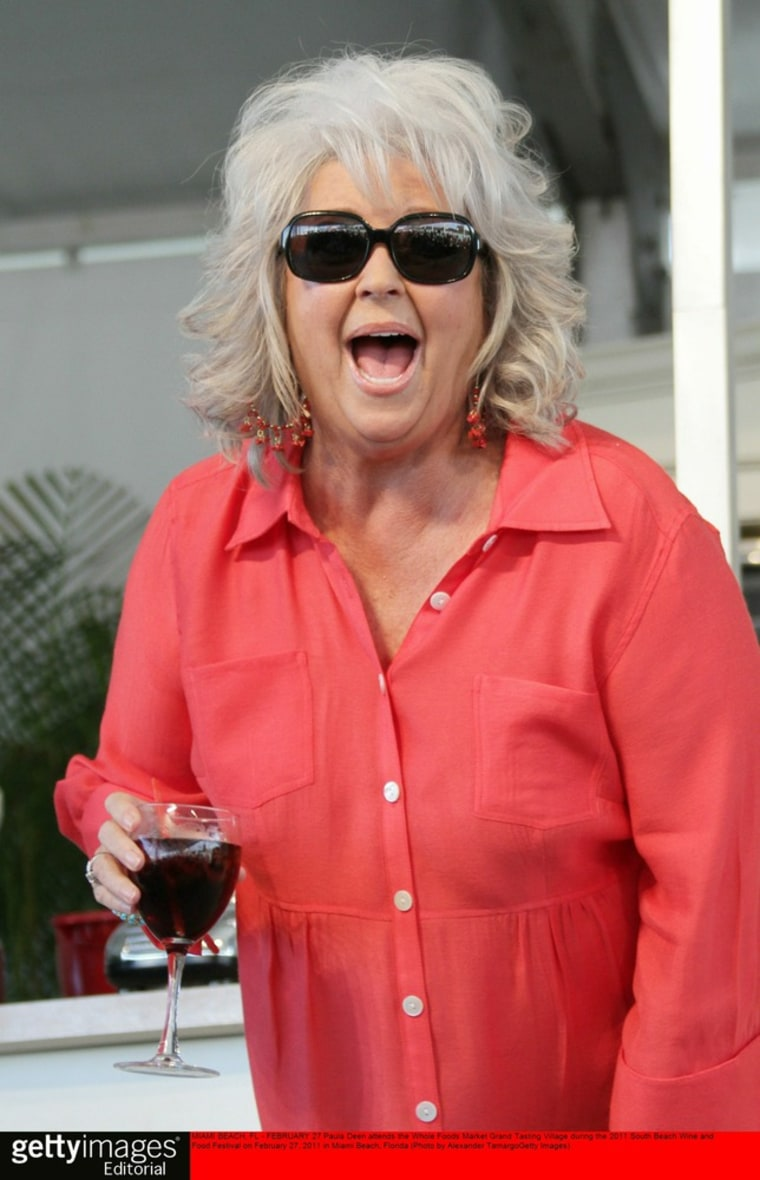 Paula Deen attends the Whole Foods Market Grand Tasting Village during the 2011 South Beach Wine and Food Festival on Feb. 27, 2011 in Miami Beach, Fla.