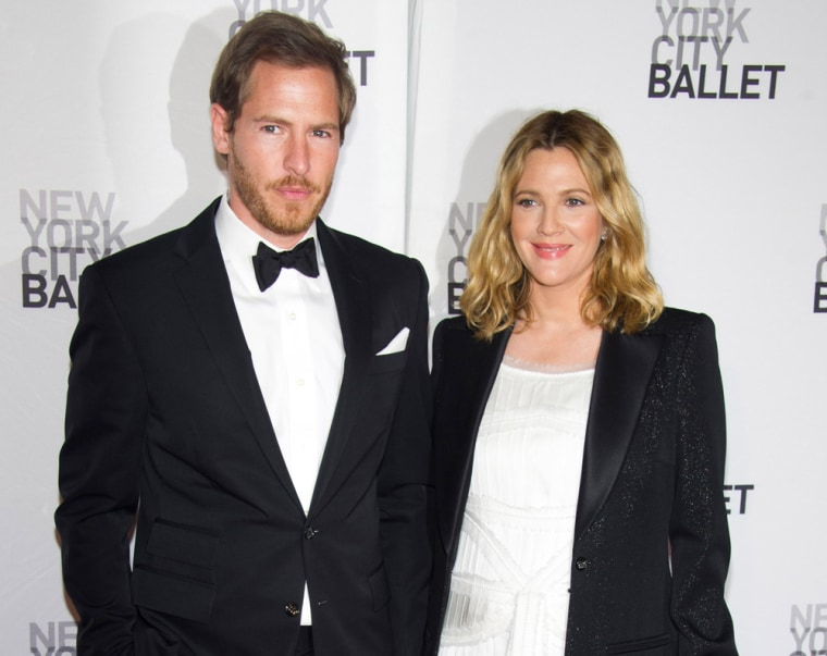 Will Kopelman and Drew Barrymore, seen here in May, now have a daughter, Olive.