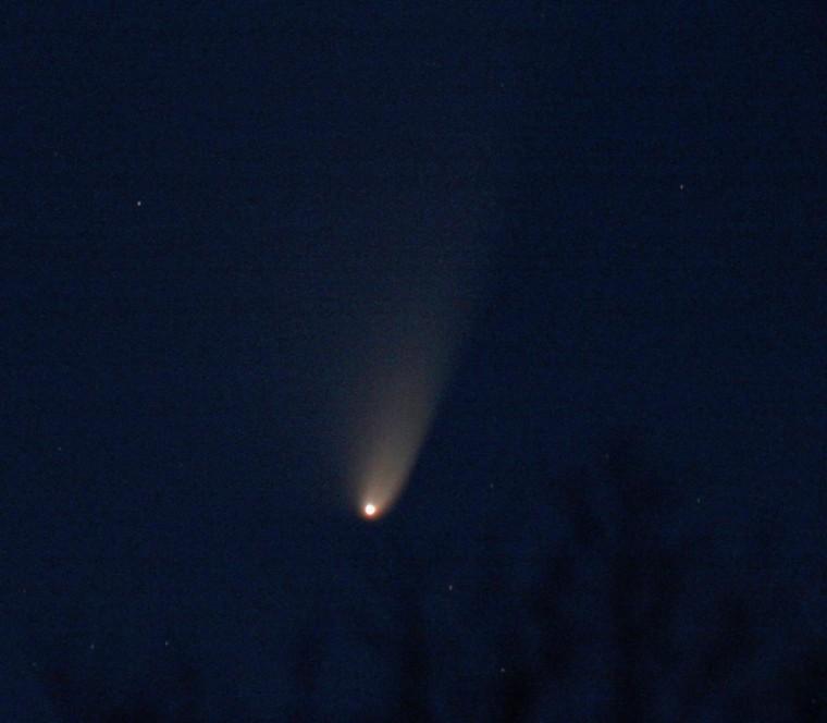 Astrophotographer Victor C. Rogus sent in a photo of Comet Pan-STARRS taken March 20, 2013, in Jadwin, Mo. He writes: