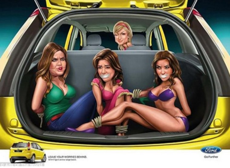 Image: Ford advertising