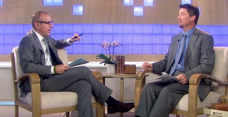 Filmmaker John Ziegler discussed his interview with Matt Lauer Monday.