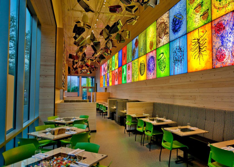Collections Café at Chihuly Garden and Glass in Seattle