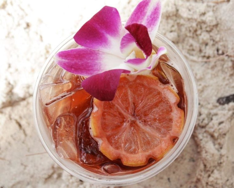 Mmmm... try the Barefoot Punch for a taste of the islands.