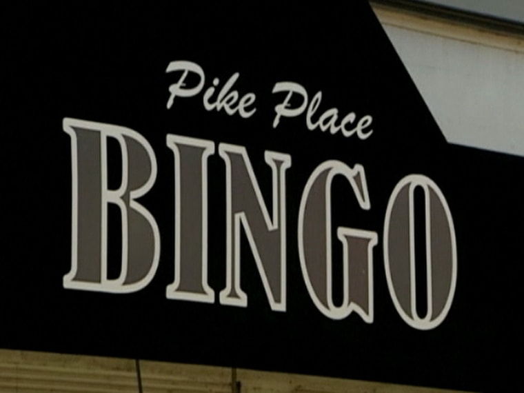 Teen arrested for yelling 'bingo!' in crowded hall.