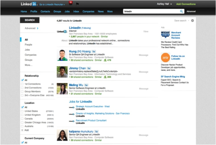 Unified search -- by more than just one category -- is coming to LinkedIn.