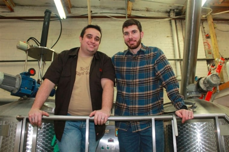 Bob Olson and Andrew Maiorana took their passion for beer and turned it into a business, but there's still a long road ahead of them.