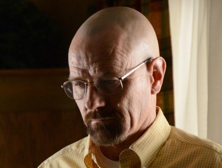"""Bryan Cranston as Walter White on """"Breaking Bad."""""""